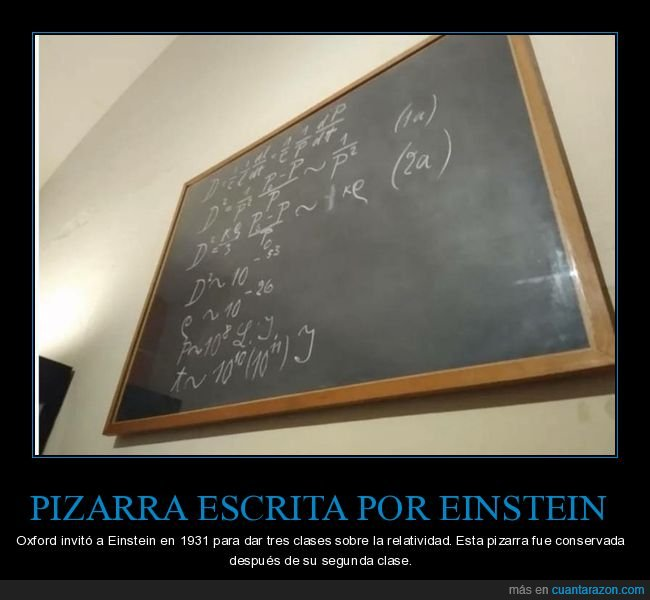 ecuaciones,einstein,pizarra