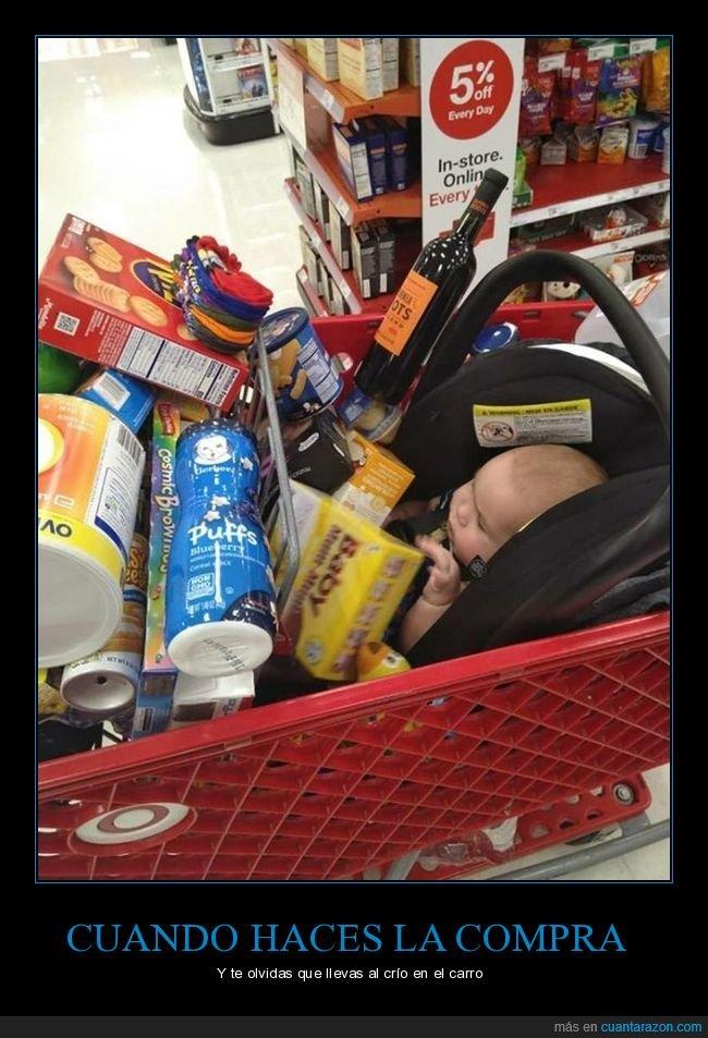 bebé,compra,supermercado,wtf