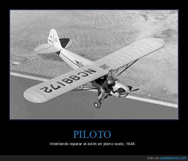 avión,hélice,reparando,vuelo