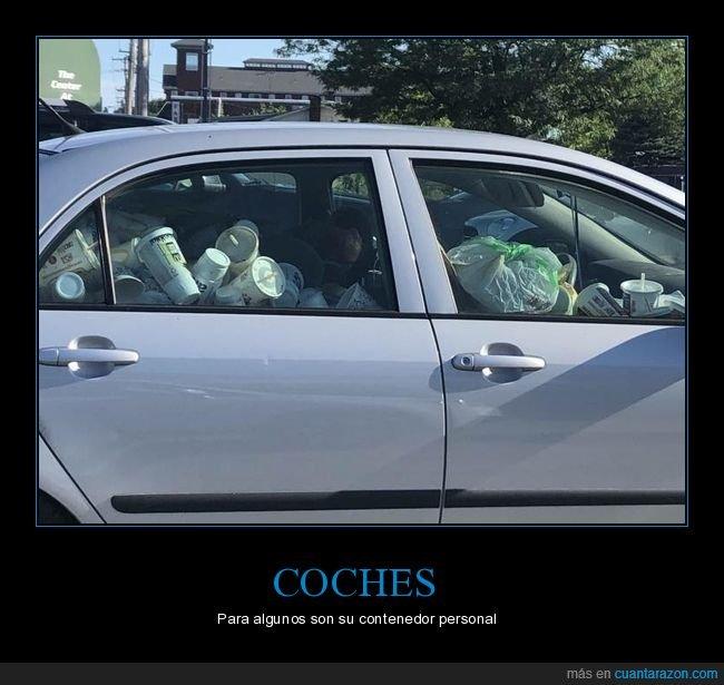 basura,coche,wtf
