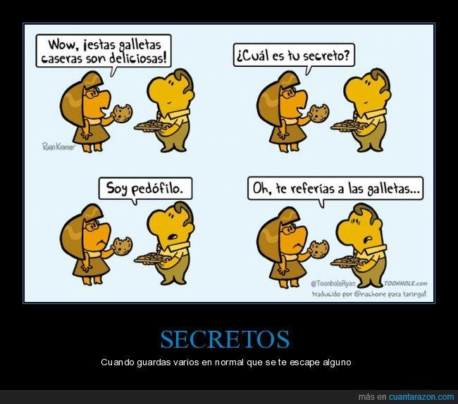 galletas,secreto
