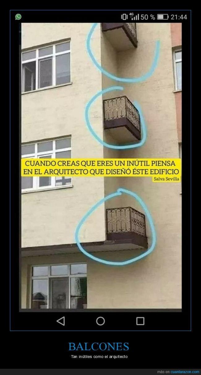 arquitecto,balcones,edificio,inútil