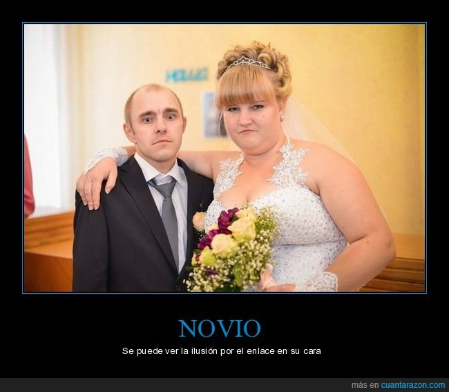 boda,cara,novio,pareja,wtf