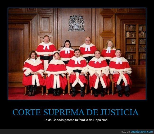 canadá,corte suprema de justicia,papá noel
