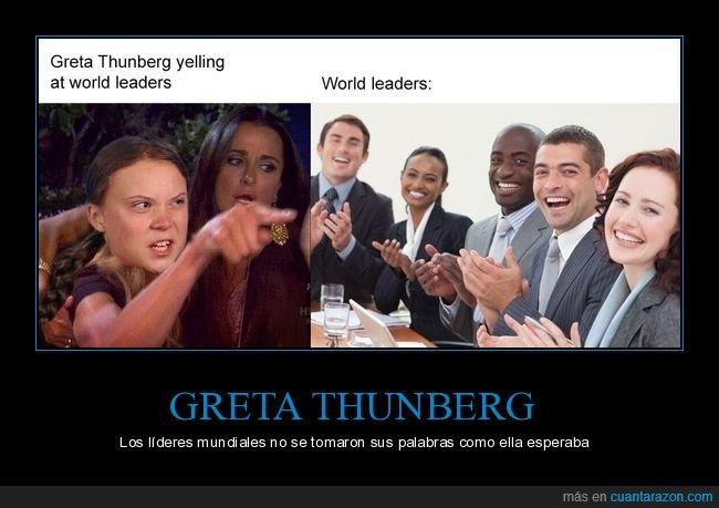 cambio climático,greta thunberg,líderes mundiales,onu,políticos