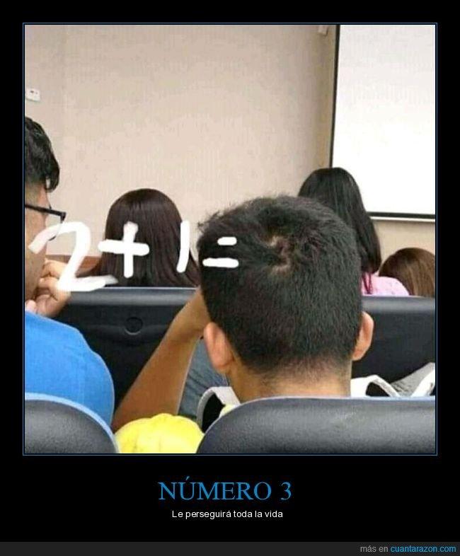 3,cabeza,número,pelo