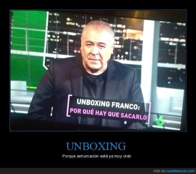 franco,la sexta,unboxing