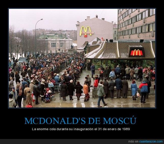cola,mcdonald's,moscú