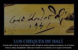 Enlace a El método Dalí para evitar pagar los cheques