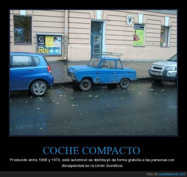 coche,compacto,pequeño,soviético