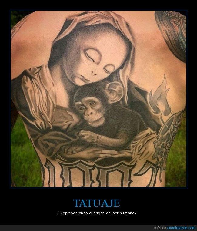 alien,mono,tatuaje