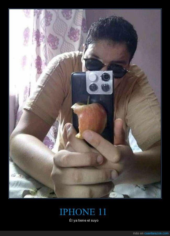 cutre,iphone,iphone 11,manzana,pastillas
