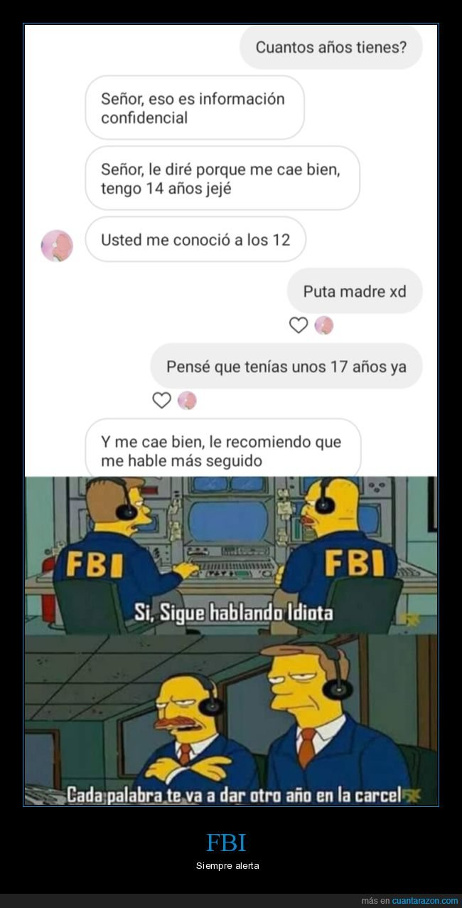 edad,fbi,menor,simpsons