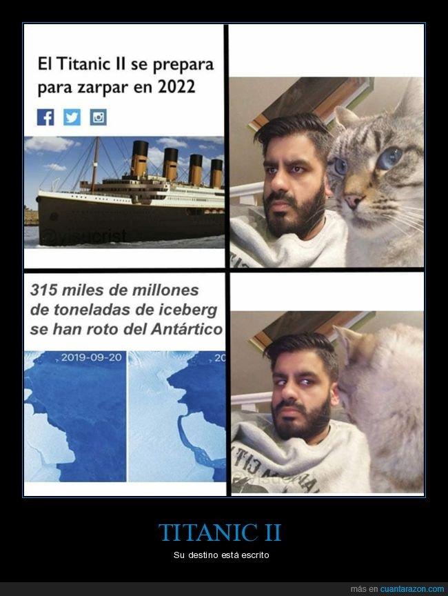 antártico,iceberg,titanic,titanic ii
