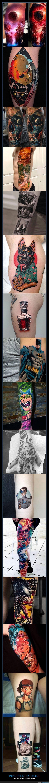 coloridos,realistas,tatuajes