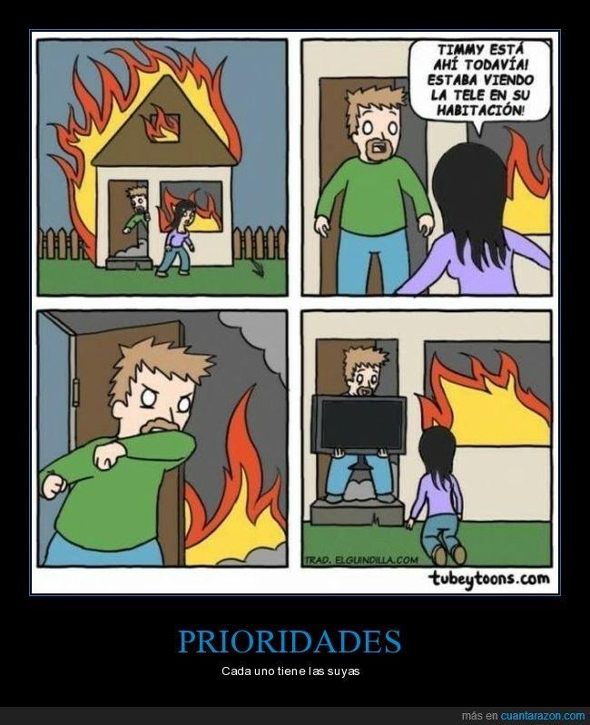 casa,incendio,niño,salvar,tele