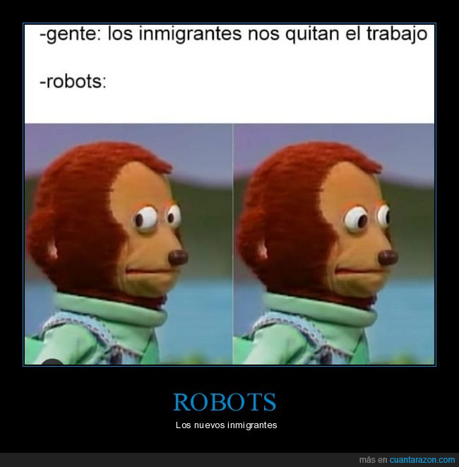 inmigrantes,quitar,robots,trabajo