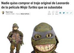 Enlace a La Tortuga Ninja de tus pesadillas