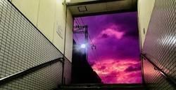 Enlace a El cielo de Japón cuando el tifón Hagibis se acercaba