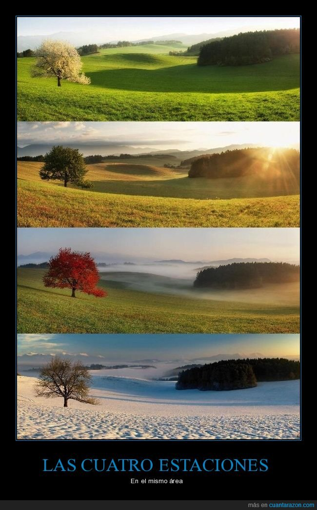 estaciones,paisaje