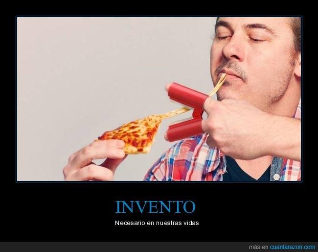 cortar,invento,pizza,queso