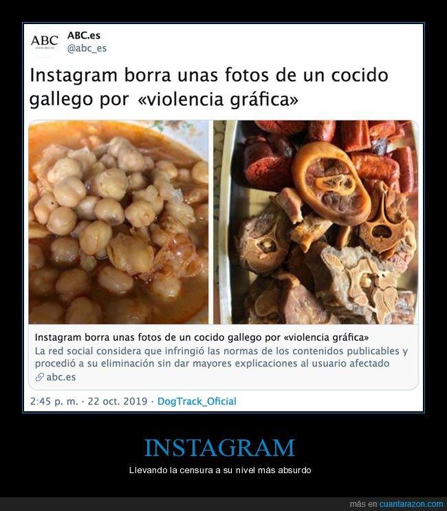 borrar,cocido,fotos,instagram,violencia gráfica
