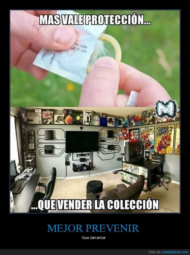preservativo,prevenir,vender,videojuegos