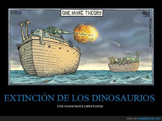 arca de noé,dinosaurios,extinción