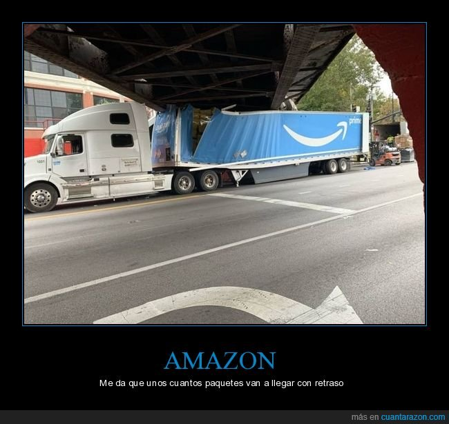 amazon,camión,fails,puente