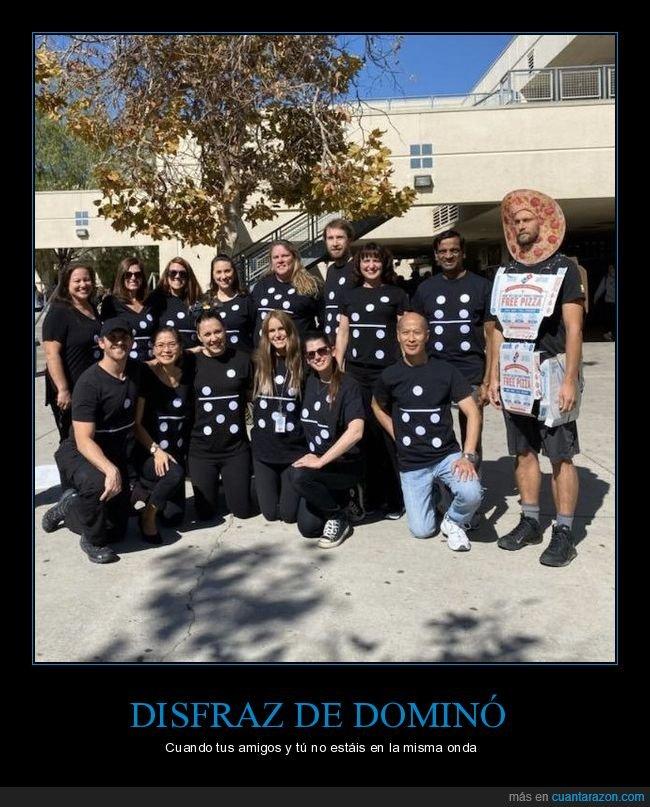 disfraces,disfraz,dominó,domino's,fails