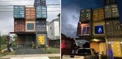 Enlace a Este hombre sólo necesitó 11 contenedores para construir la casa de sus sueños