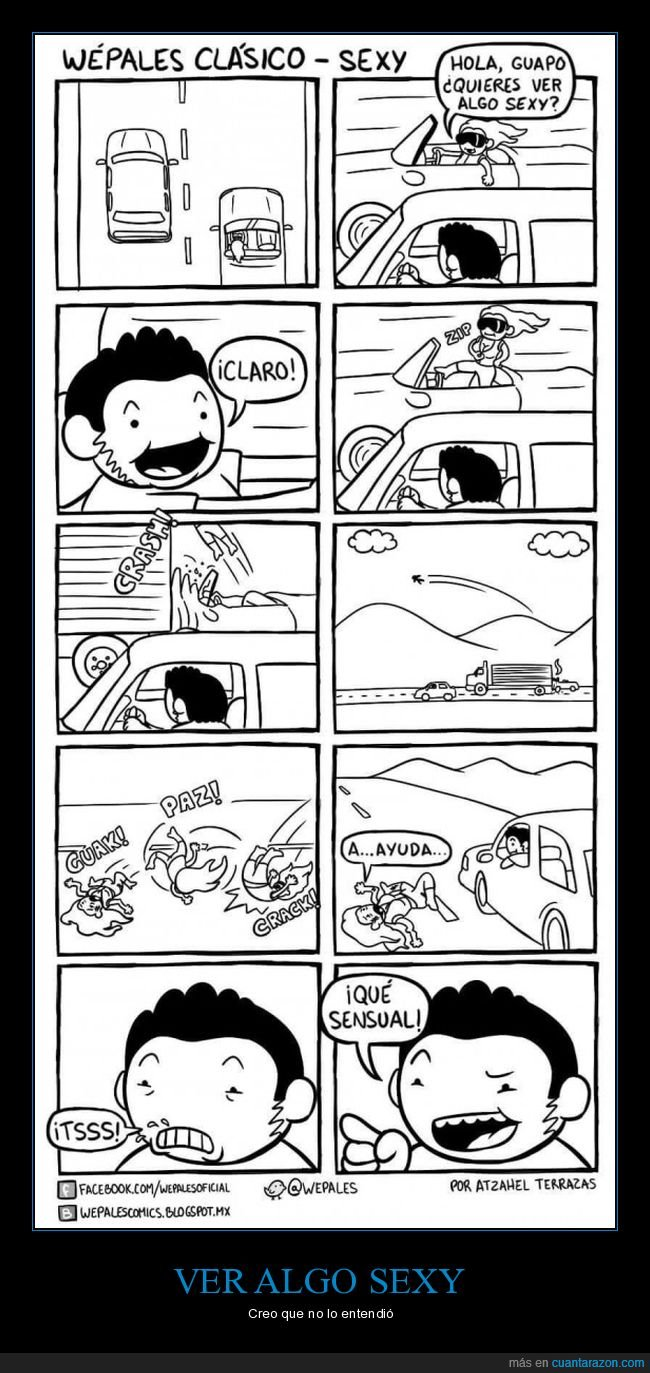 accidente,coche,sexy