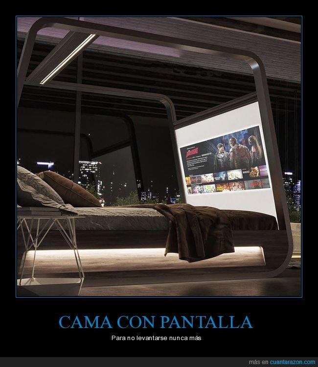 cama,pantalla