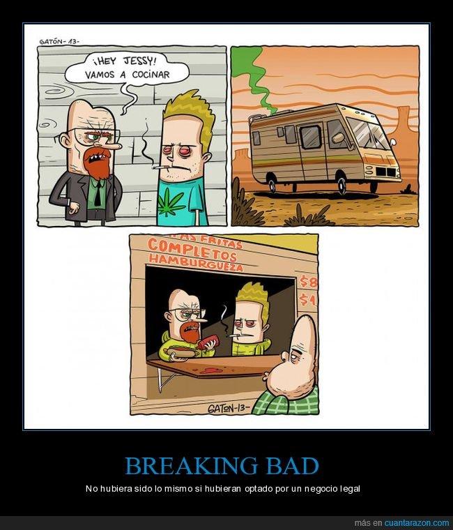 breaking bad,cocinar,comida