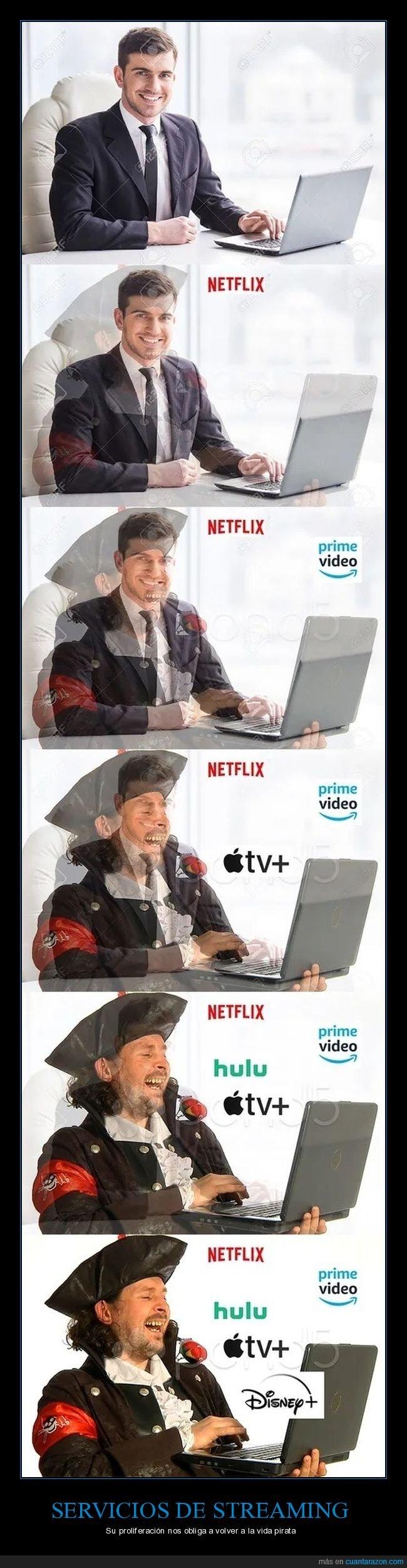piratería,streaming