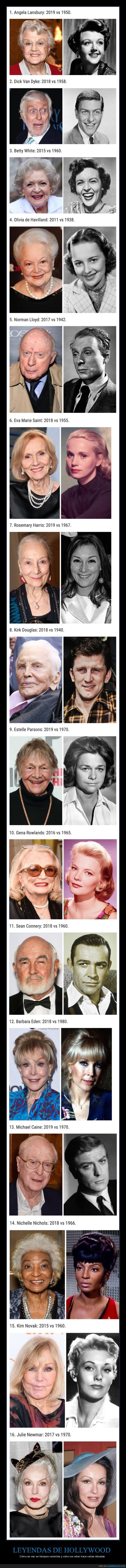actores,ahora,antes,comparación