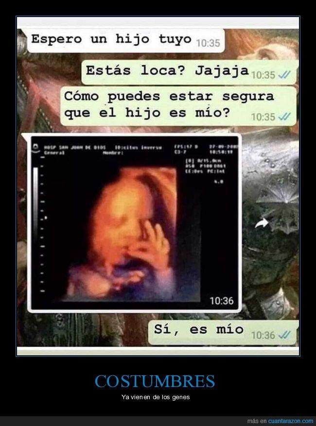 ecografía,embarazada,hijo
