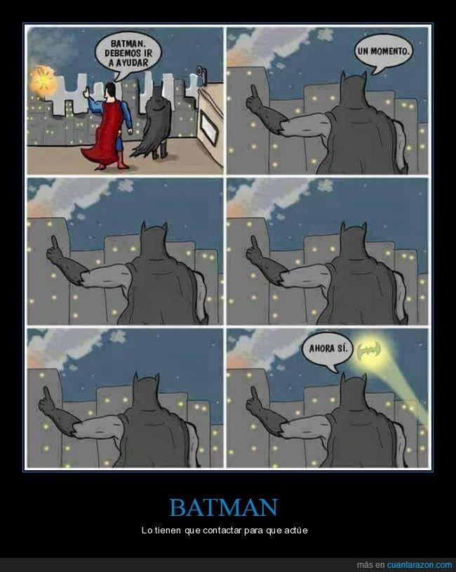 ayudar,batman,batseñal,superman