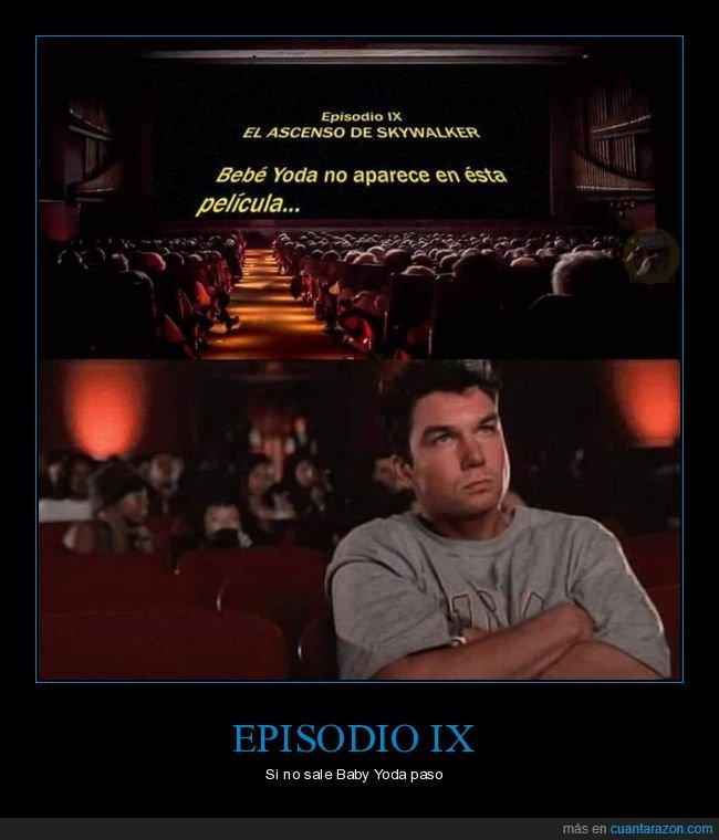 baby yoda,episodio ix,star wars