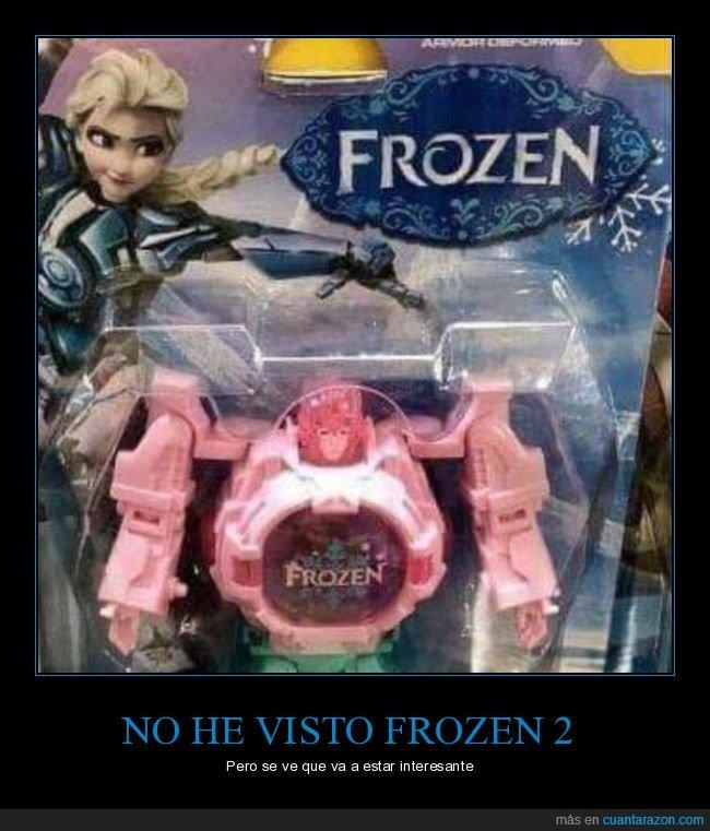 frozen,frozen 2,muñeco,transformer,wtf