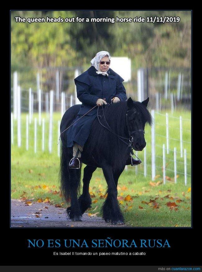 caballo,isabel ii,paseo