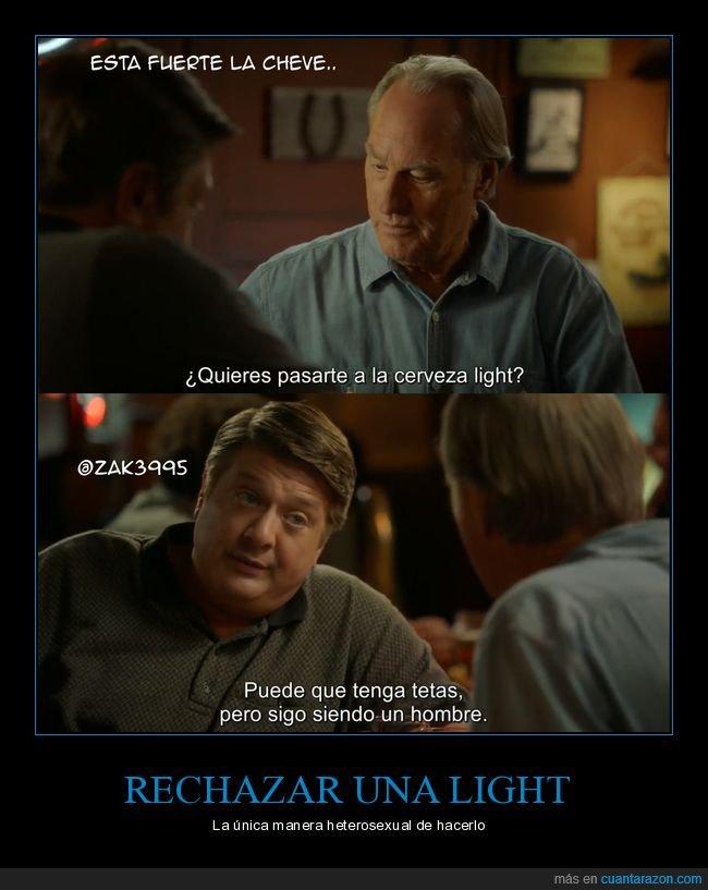cerveza,hombre,light