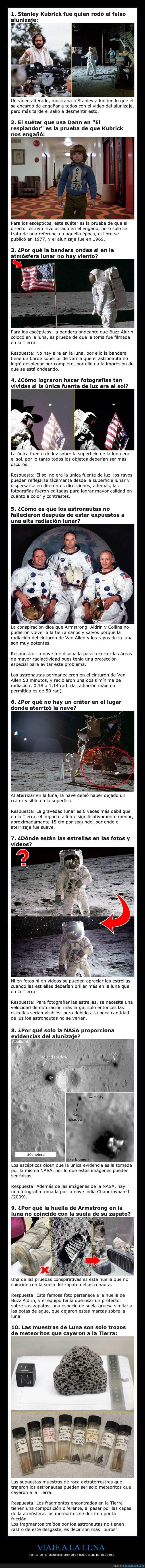 alunizaaje,escépticos,luna,teorías