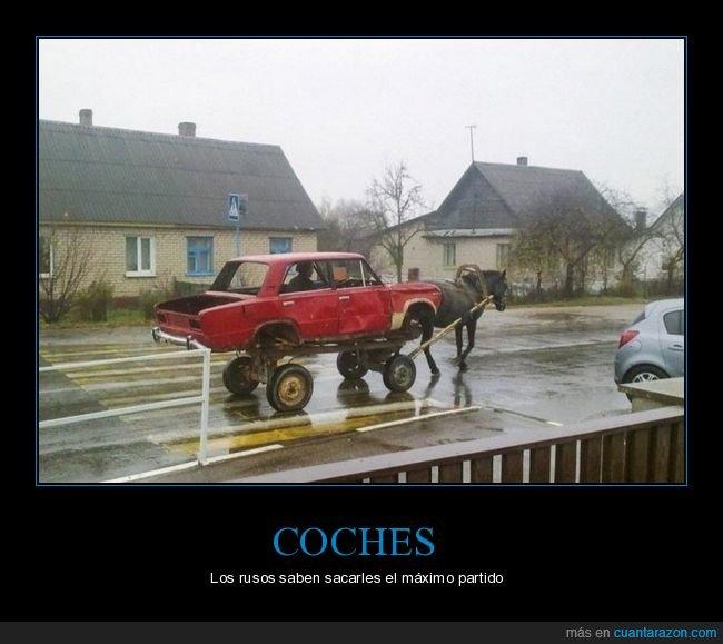caballo,carro,coche