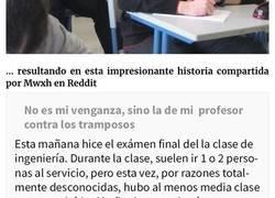 Enlace a Este profesor puso una pregunta trampa en el examen para pillar a los tramposos, y cazó a 14 en total
