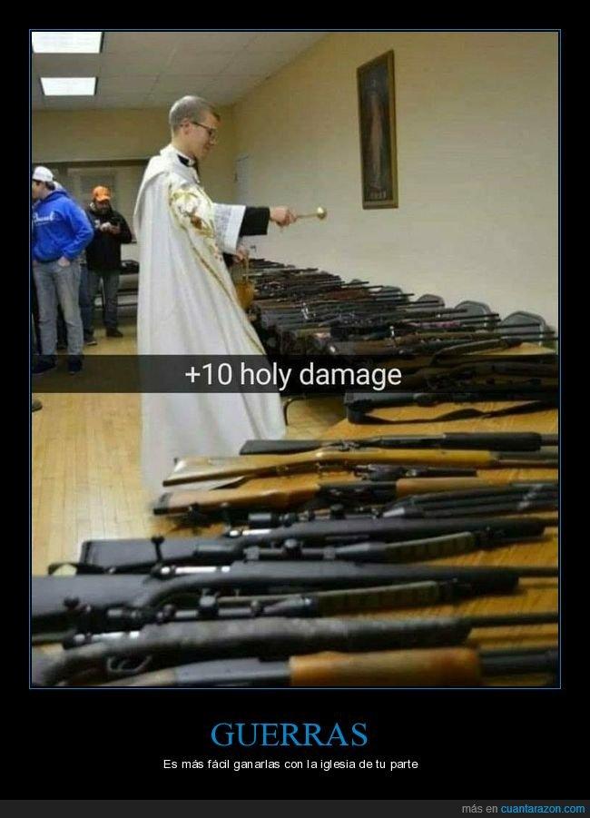 armas,bendiciendo,cura,daño,wtf