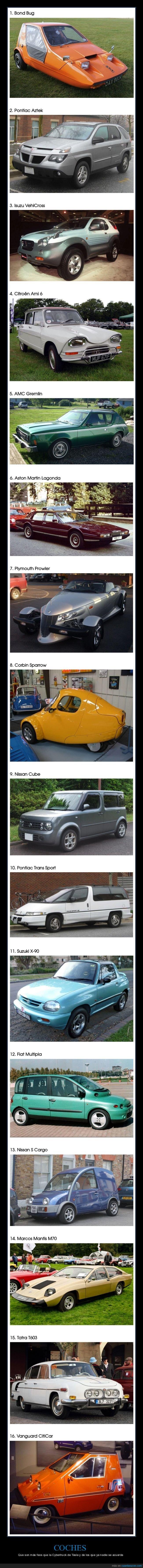 coches,feos