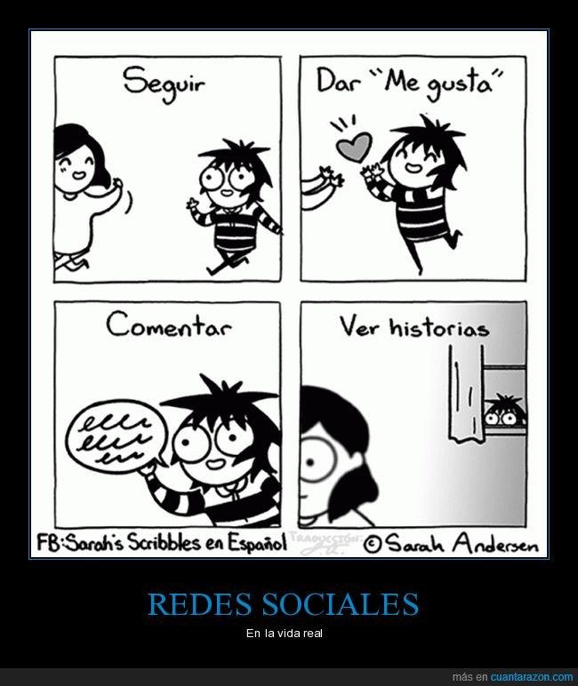 redes sociales,vida real
