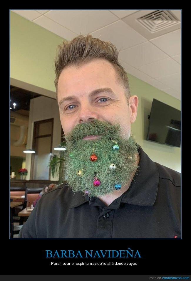 barba,navidad