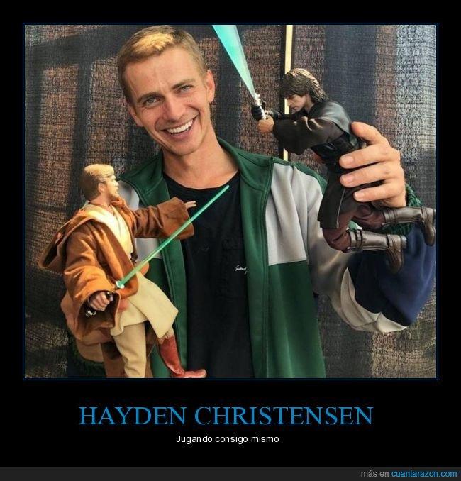 anakin skywalker,hayden christensen,muñecos,star wars